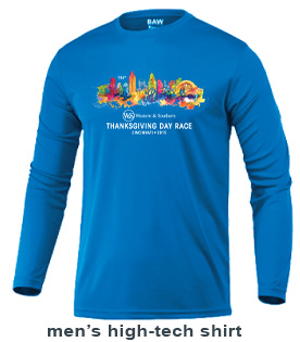 Mens 2014 Thanksgiving Day Race T-shirt
